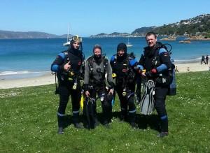 1st sea dives