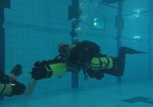 Sidemount Pool Session